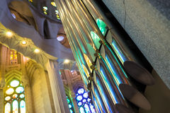 Sagrada pipes Royalty Free Stock Photos