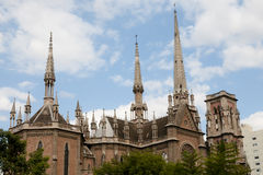 Sagrado Corazon Church - Córdova - Argentina imagens de stock royalty free