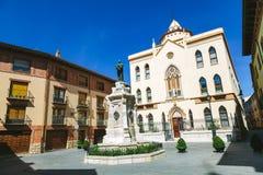 Sagrado Corazon de Jesus Residence in Teruel Stockbilder