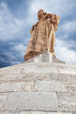 Sagrado Corazon de Jesus statue Royalty Free Stock Images