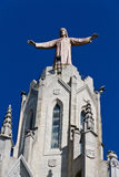 Sagrado Corazon Del Tibidabo, Barcelona Spanien Lizenzfreie Stockfotos