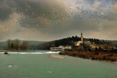 Sagrado Gorizia (Italien) Lizenzfreies Stockfoto