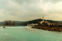 Sagrado (Italie) photos libres de droits