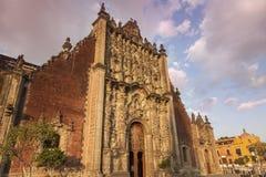 Sagrario Metropolitano em Cidade do México imagem de stock royalty free