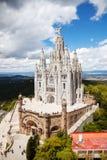 Sagrat Cor. Barcelona Catalonia royaltyfria bilder
