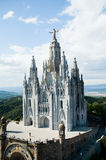 Sagrat Cor, Tibidabo Stock Images