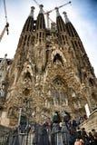 Sagre Familia Barcelona fotos de archivo libres de regalías