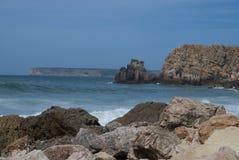sagres пляжа Стоковое Изображение RF