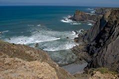 sagres пляжа Стоковые Изображения RF