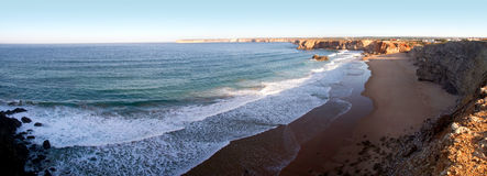 Sagres cliffs Stock Images