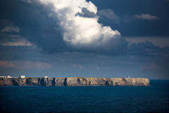 Sagres Cliffs near Royalty Free Stock Photography