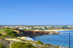 Sagres harbour on the Algarve Royalty Free Stock Photography