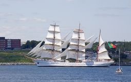 The Sagres - Nova Scotia Tall Ship Festival 2009 Stock Photography