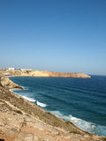 Sagres Point in Portugal Stock Photography