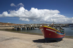 Sagres Port, Algarve, Portugal Stock Photos
