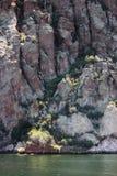 Saguaro jeziora góry Zdjęcie Stock