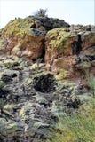Saguaro Jeziorny rezerwuar, Maricopa okręg administracyjny, Arizona, Stany Zjednoczone Obrazy Stock