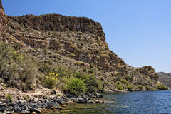 Saguaro Lake, Arizona Stock Images