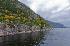 Saguenay河 图库摄影