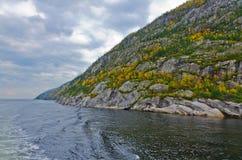 Saguenay河 免版税库存图片