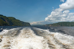 Saguenay Fjord Royalty Free Stock Images