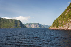 Saguenay Fjord Royalty Free Stock Photo