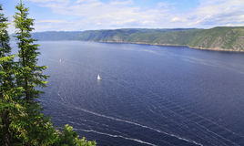 Saguenay Fjord, Quebec, Canada Royalty Free Stock Image