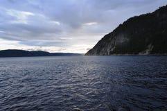 Saguenay Fjord, Quebec, Canada.  royalty free stock image