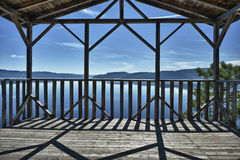 Saguenay fjord view royalty free stock photos