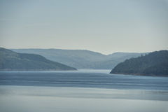 Saguenay fjord view Royalty Free Stock Image