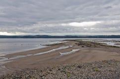 Saguenay river Stock Image