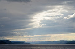 Saguenay river Royalty Free Stock Photography