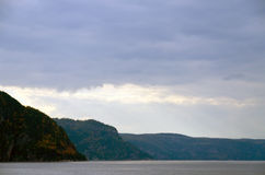 Saguenay river Royalty Free Stock Photos