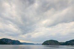 Saguenay river Royalty Free Stock Photo