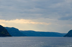 Saguenay river Royalty Free Stock Images