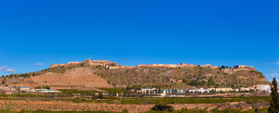 Sagunto Castle in Calderona  Valencia Spain Royalty Free Stock Photo