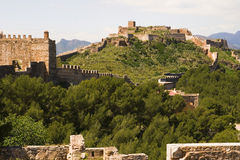 Sagunto, remains of Roman civilization in Valencia, Spain Stock Image