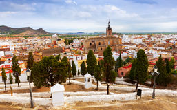 Sagunto in summer. Valencian Community Stock Images