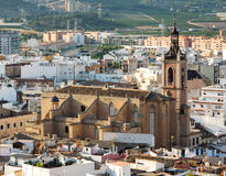 Sagunto town Royalty Free Stock Photos