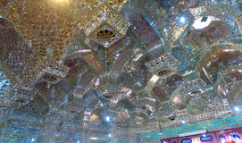 Sah Cheragh de la mezquita imágenes de archivo libres de regalías