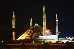 Sah Faisal Mosque, Islamabad Imagenes de archivo