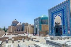 Sah-yo-Zinda 35 de Samarkand imagen de archivo