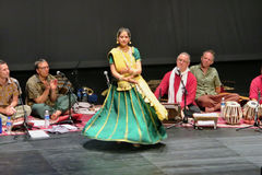 Sahaja-Yoga-Musik von Joy Meditation u. von Musik-Konzert an SOTA Lizenzfreie Stockfotografie