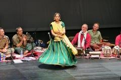 Sahaja yogamusik av Joy Meditation & musikkonserten på SOTA Royaltyfri Fotografi