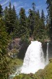 Sahalie Falls waterfall. In Oregon USA Royalty Free Stock Image