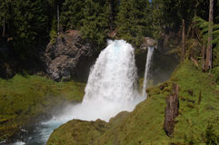 Sahalie Falls in Western Oregon Royalty Free Stock Photo