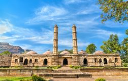 Sahar Ki Masjid at Champaner-Pavagadh Archaeological Park. A UNESCO heritage site in Gujarat, India. Sahar Ki Masjid at Champaner-Pavagadh Archaeological Park. A royalty free stock images