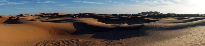 Sahara öken i Sahara Royaltyfri Fotografi