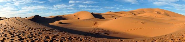 Sahara öken i Sahara Fotografering för Bildbyråer