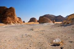 Sahara, Akabat, Egipt Obraz Stock